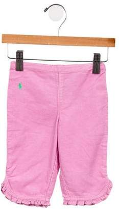 Ralph Lauren Girls' Corduroy Straight-Leg Pants w/ Tags