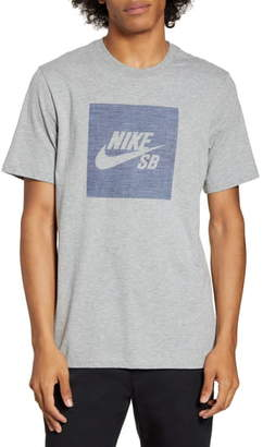 Nike SB Chambray Logo T-Shirt