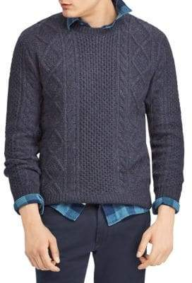 Polo Ralph Lauren Wool Cable Knit Sweater