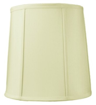 """Home Concept Inc 10X12x12"""" Slip Uno Fitter Egg Shell Shantung Drum Lampshade Home Concept Inc"""
