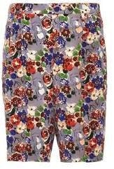 Prada Marocain Crepe Shorts