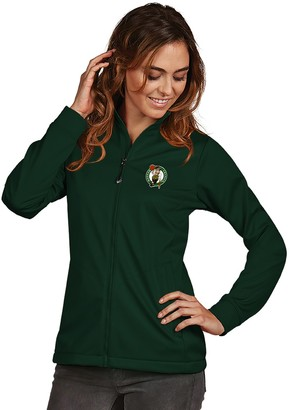 Antigua Women's Boston Celtics Golf Jacket