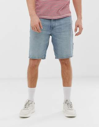 Tom Tailor relaxed fit denim shorts in stone wash