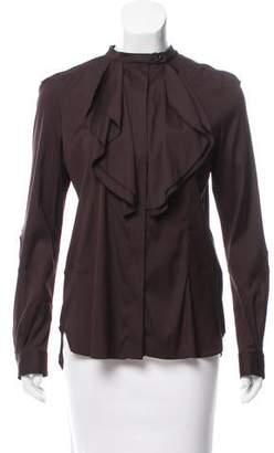 Belstaff Silk Button-Up Top w/ Tags