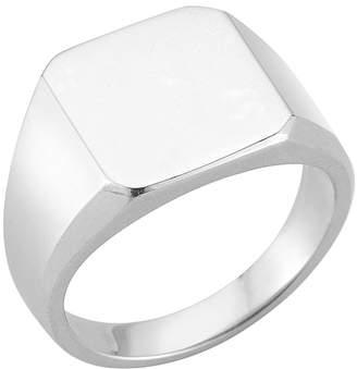 Mateo Bijoux Men's Square Signet Ring