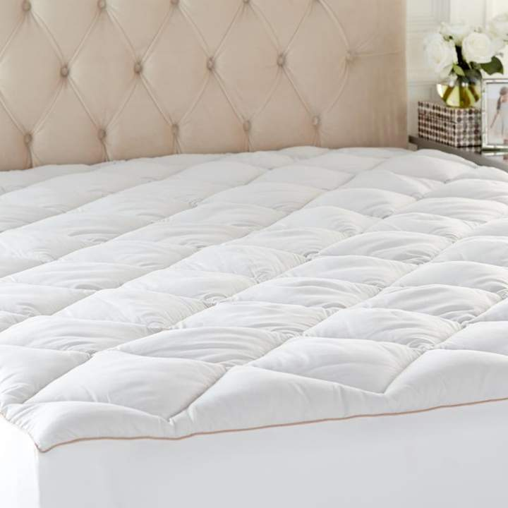 Concierge Collection Ever Clean Mattress Pad - Diamond Quilted - Twin