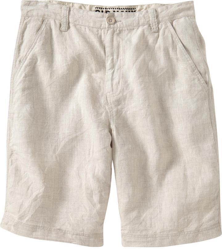 "Old Navy Men's Linen-Blend Shorts (10"")"