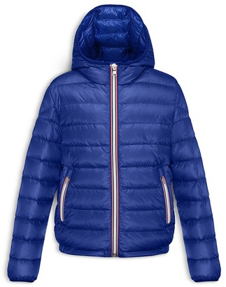 Moncler Boys' Athenes Hooded Jacket - Sizes 4-6 $420 thestylecure.com