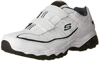 Skechers Men's AFTER BURN M.FIT- FI Strike Memory Foam Velcro Sneaker