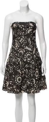 Diane von Furstenberg Floral Mini Dress