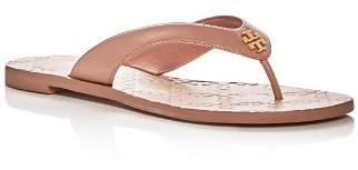 Tory Burch Women's Monroe Leather Thong Sandals