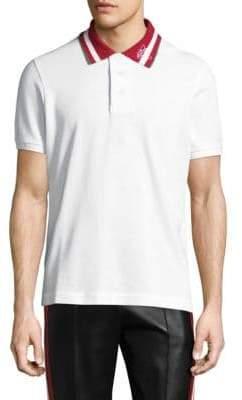 Bally Striped Cotton Polo