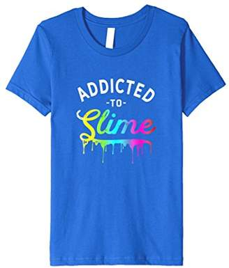 Slime Shirts for Girls Addicted to Slime Cute Slime T Shirt