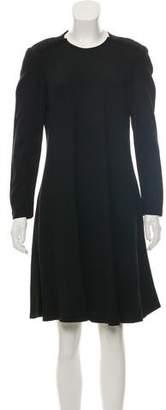 Sonia Rykiel Sonia by Long Sleeve Knee-Length Dress