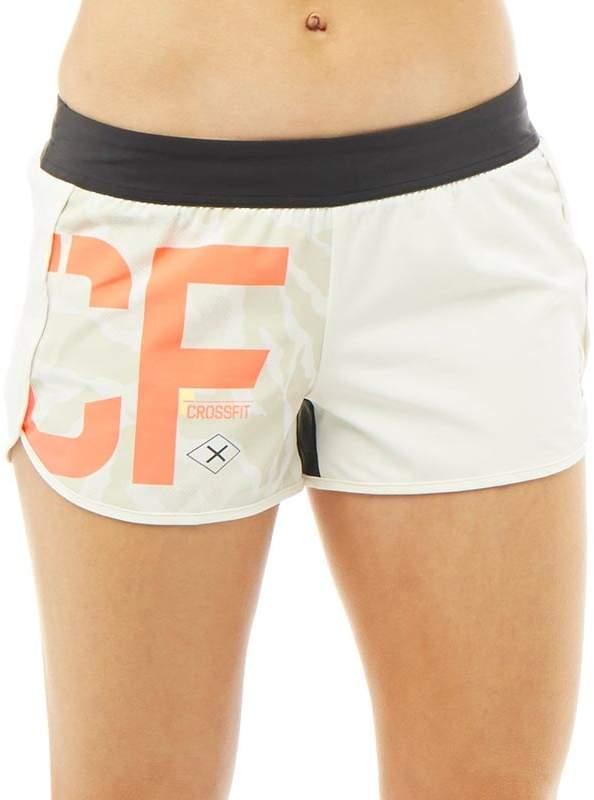 Damen CrossFit Speedwick 5 Inch Shorts Creme