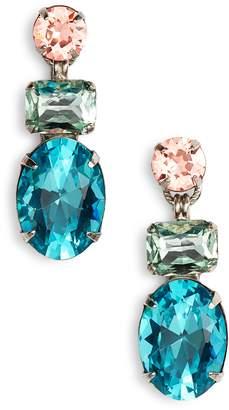 Sorrelli Forget Me Not Crystal Drop Earrings