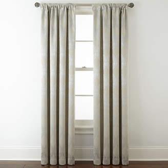 Royal Velvet Allure Room-Darkening Rod-Pocket/Back-Tab Curtain Panel