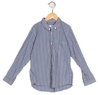 Burberry Boys' Striped Button-Up Shirt