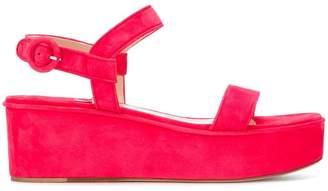 Paul Andrew flat platform sandals