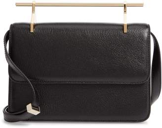 M2Malletier Fleur du Mal Lux Leather Shoulder Bag