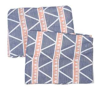 Bacati Emma Aztec Triangles Muslin Fitted Crib Sheets