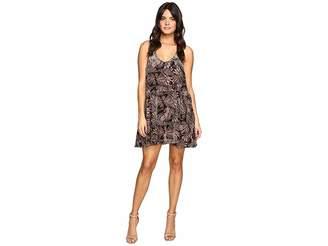 Free People Ellie Velvet Mini Dress Women's Dress