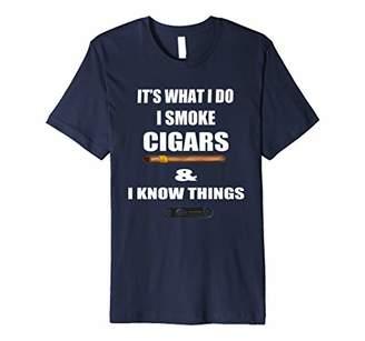 IDEA Cigar Shirt Gift Funny Cigar Accessories Gift Set