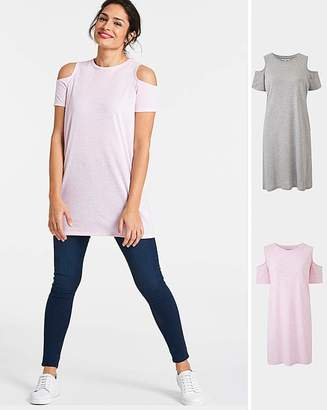 0b0a27aa4a4789 Grey Cold Shoulder Tops For Women - ShopStyle UK