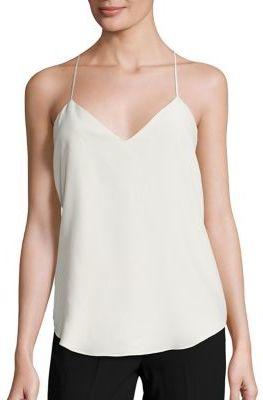 Polo Ralph Lauren Silk Camisole $125 thestylecure.com