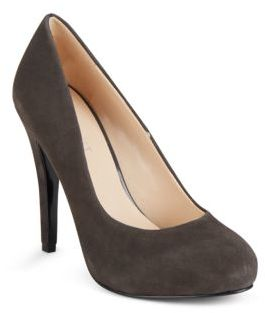 Solid Leather High Heel Pumps $89 thestylecure.com
