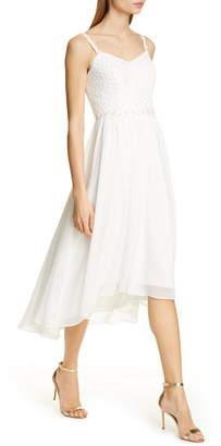 Ted Baker Rosemry Daisy Dip Hem Dress