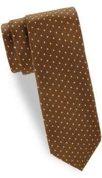 Tom Ford Textured Dots Silk Tie