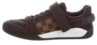 Louis Vuitton Elliptic Damier-Paneled Sneakers