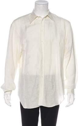 Giorgio Armani Woven Button Shirt