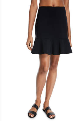 Karla Colletto Spresa Pull-On Coverup Skirt