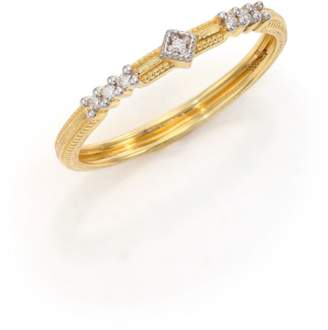 Jude Frances Lisse Diamond & 18K Yellow Gold Ring