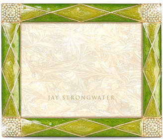 """Jay Strongwater Argyle 3"""" x 4"""" Picture Frame"""