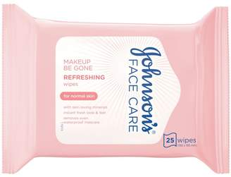 Care Johnson's Face Makeup Be Gone Refreshing Wipes 25s