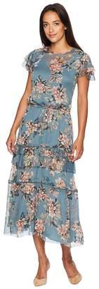 Lauren Ralph Lauren Print Georgette Dress Women's Dress