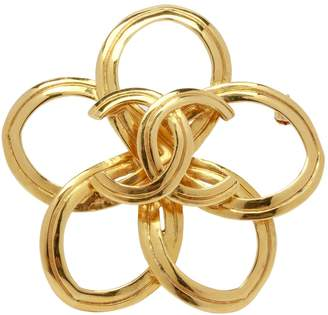 Chanel Gold Metal Pin & brooche