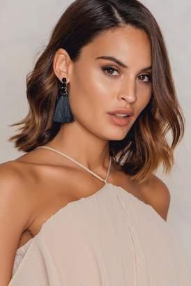 Na Kd Accessories Diamond Tassels Earrings