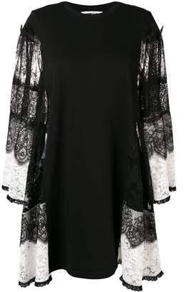 McQ two-tone lace dress