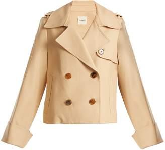 KHAITE Bianca double-breasted cotton jacket