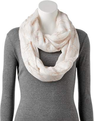 Apt. 9 Women's Floral Embroidered Infinity Scarf