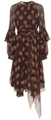 Etro Leya silk georgette dress