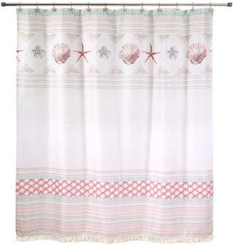Avanti Coronado Shell Shower Curtain