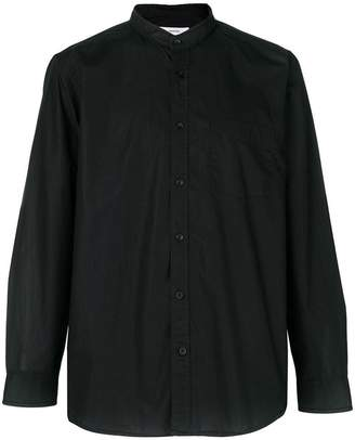 Mauro Grifoni round-collar fitted shirt
