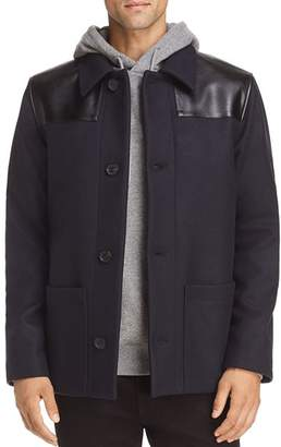 A.P.C. Wool & Leather Donkey Jacket