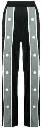 NO KA 'OI No Ka' Oi oversize button striped trousers