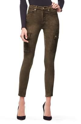 Good American Good Legs Crop Cargo Pants